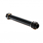 BOX TWO 20mm x 100mm FRONT AXLE BLACK