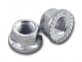 STEEL AXLE NUT 3/8
