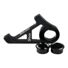 BOX ONE BMX DISC BRAKE ADAPTER (STANDARD 10mm FRAME DROPOUT) BLACK