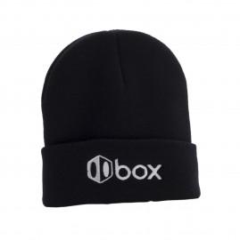 BOX ICON LOGO BEANIE BLACK