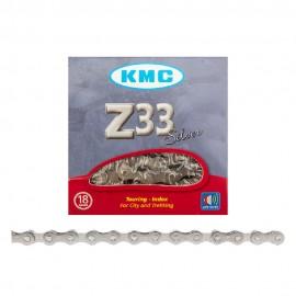 """KMC Z6 (Formerly Z33NP) 1/2x3/32"""" CHAIN SILVER"""