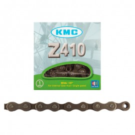 "KMC Z410 1/2x1/8"" 112L CHAIN BROWN"