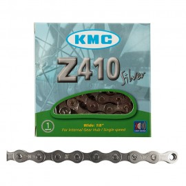 "KMC Z410 1/2x1/8"" 112L CHAIN SILVER"