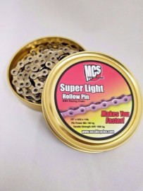 MCS SUPERLIGHT HOLLOW PIN CHAIN