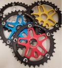 MCS ALLOY SPIDER & CHAINRING 33T COMBO