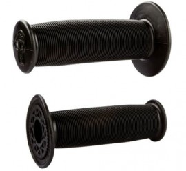 ODI MUSHROOM MX SINGLE PLY GRIPS BLACK