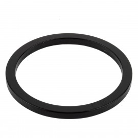 "MCS ALUMINUM 1"" HEADSET SPACERS BLACK"