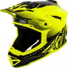 FLY RACING DEFAULT HELMET HI-VIS/BLACK