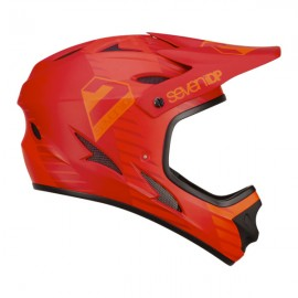 SEVEN IDP M1 TACTIC HELMET BRIGHT RED/ DARK RED