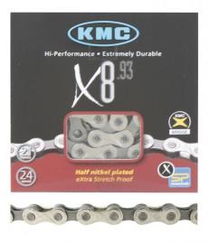 """KMC X8.93 3/32"""" CHAIN SILVER"""