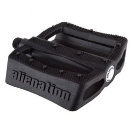 "ALIENATION EFFECTS 9/16"" PEDALS BLACK"
