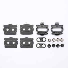 HT COMPONENTS X2 CLEAT KIT BLACK