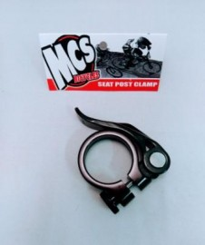 MCS QUICK RELEASE SEATPOST CLAMP BLACK 1""