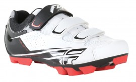 FLY RACING TALON II CLIP SHOES WHITE