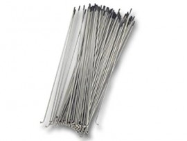 STAINLESS STEEL SPOKES (75/Bag) SILVER