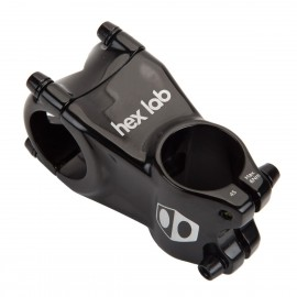 BOX HEX LAB FRONT LOAD MINI 28.6mm Ø OVERSIZE STEM BLACK - 45mm