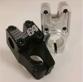 """TANGENT SPLIT """"NIC SHORT"""" 1-1/8"""" TOP LOAD STEM BLACK - 39mm"""